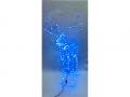 Renifer led 120x95x55 niebieski