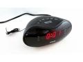 Radio budzik zegar FM z dużym wyświetlaczem LCD