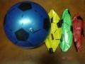 Piłka gumowa do gry dmuchane piłki 15cm