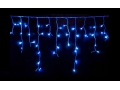 Lampki Sople 100 LED Z Niebieskie Flash