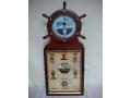 Zegar drewniany morski