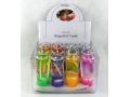 Świeczki dekoracyjne mix kolorów duze