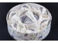 Zestaw 6 filiżanek z łyżeczkami lawenda LAVE018