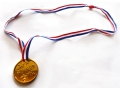 Zestaw 5x Medal na szyję 'Winner' zabawka Party