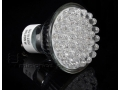 Żarówka diodowa 48 LED -trzonek GU10 ~230V ciepła