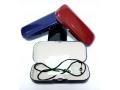 Etui na okulary ze sznurkiem i szmatkiem