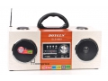 Radio Retro z wbudowanym akumulatorem +kabel +pilo