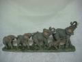 Słonie - w rzędzie