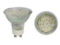 Żarówka 21 LED GU10, ciepłe białe - 1,5W