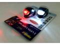 Oświetlenie rowerowe silikon 2LEDx2 lampki czarne