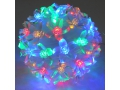 Lampki choinkowe 100 led, kula wisząca  multikolor