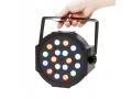 REFLEKTOR SLIM PAR 18LED RGB HALOGEN LAMPA DISCO