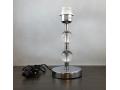 Lampka nocna stalowa z akrylowymi kulkami 27cm