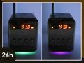 PRZENOŚNY MINI GŁOŚNIK RADIO USB MP3 SD FM LED