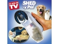 Masażer wyczesywarka włosów dla psów Shed Pal TV
