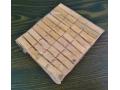 Spinacze / klamerki do bielizny bambus 20szt kpl
