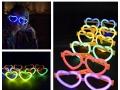 Światło chemiczne okulary serca