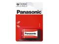 BATERIA PANASONIC R-9, 9V 6F22 BLISTER