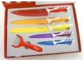Zestaw noży kuchennych 6el. ceramiczne SWITZNER