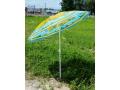 Parasol plażowy ogrodowy przeciwsłoneczny łamany