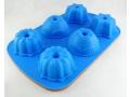 Silikonowa forma muffin 6szt mix wzorów
