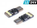 ŻARÓWKA VISION W5W T10 12/24V 6X 3030 SMD LED