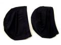 Czepek kąpielowy materiałowy czarny