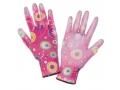 Damskie rękawiczki ogrodowe - podgumowane