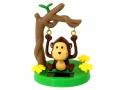 Niesamowita zabawka solarna - małpka huśtający się