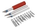 Hobby Knife Set Zestaw 13 el