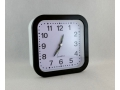 Zegar budzik kwadratowy 12,5cm