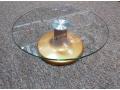 Szklana obrotowa patera do ciasta 30x10,5cm