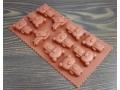 Silikonowa forma do czekolady misie 11szt
