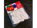 Balony 10szt perłowe i czerwone