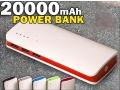 BATERIA POWER BANK 20000 mAh POWERBANK
