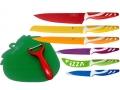 Zestaw noży kuchennych 8el ceramiczne SWISS KOCH