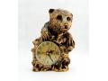 Zegar kominkowy niedźwiedź