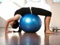 Piłka Do Ćwiczeń Gimnastyczna Fit Ball 3 Kolory