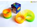 Sprężyna mini tęcza magic sprężynka zabawka