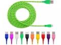 Kabel microUSB - USB ładowarka 3m pleciony nylon