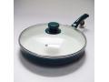 Patelnia ceramiczna z pokrywą 28 cm.