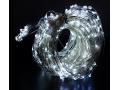 Lampki łezki led 20 drutów 600led 300cm biały zimn