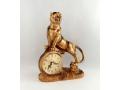 Zegar kominkowy tygrys