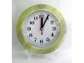 Zegar ścienny wskazówkowy pływający marmurek 17c