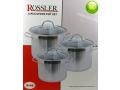 Garnki Rossler 6 elementów (R-46)