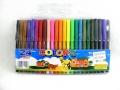 Flamastry zestaw 24 kolory   mazaki mazaków