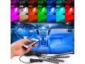 Oświetlenie Wnętrza AUTA LED KABINY Samochodu RGB