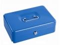 Kasetka na pieniądze 25x18x9cm niebieska