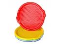Taca plastikowa okrągła 35 cm MIX kolor