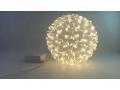 Kula 100Led ciepły Biały kolor wisząca lampki choi